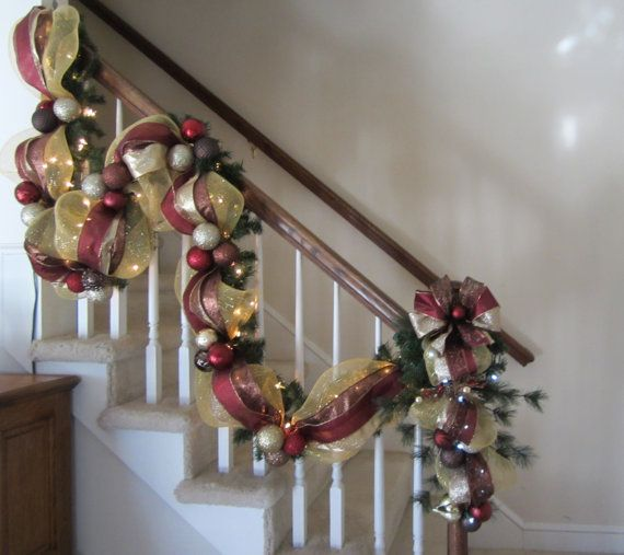 Christmas Set Garland Swag Wreath Special Old World