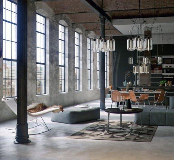 Top 50 Best Industrial Interior Design Ideas Raw Decor Inspiration Industrial Loft Design Industrial Interior Style Industrial Interior Design