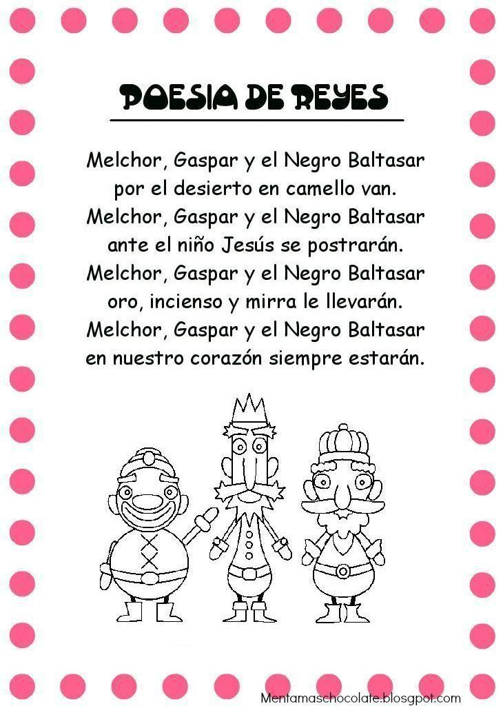 Menta Más Chocolate - RECURSOS y ACTIVIDADES PARA EDUCACIÓN INFANTIL: Poesías de Navidad