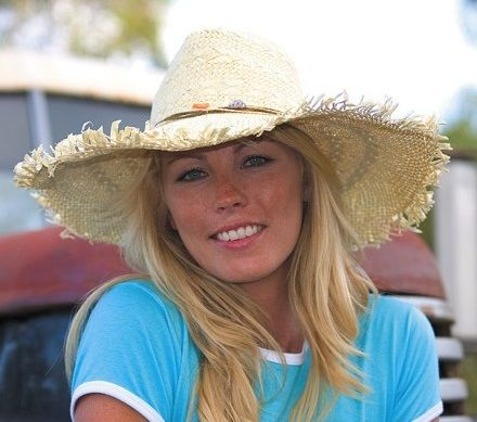 Zomerse hoed