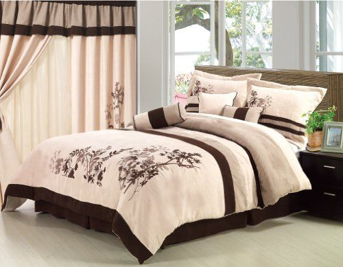 White And Brown Comforter Sets Brown And Beige Bedroom