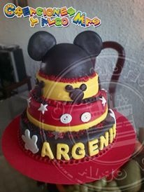 Torta de Mickey Mouse: Torta De, Mickey Mouse, De Mickey, Party Cakes