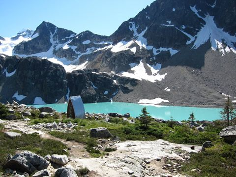 Wedgemount Lake, Whistler