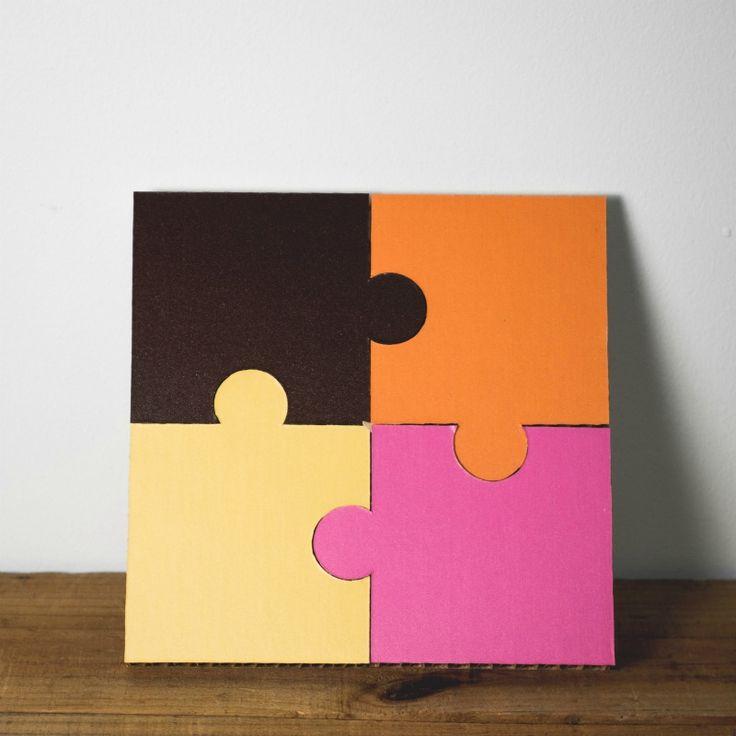 Form maker Jigsaw Coaster Set Patisserie