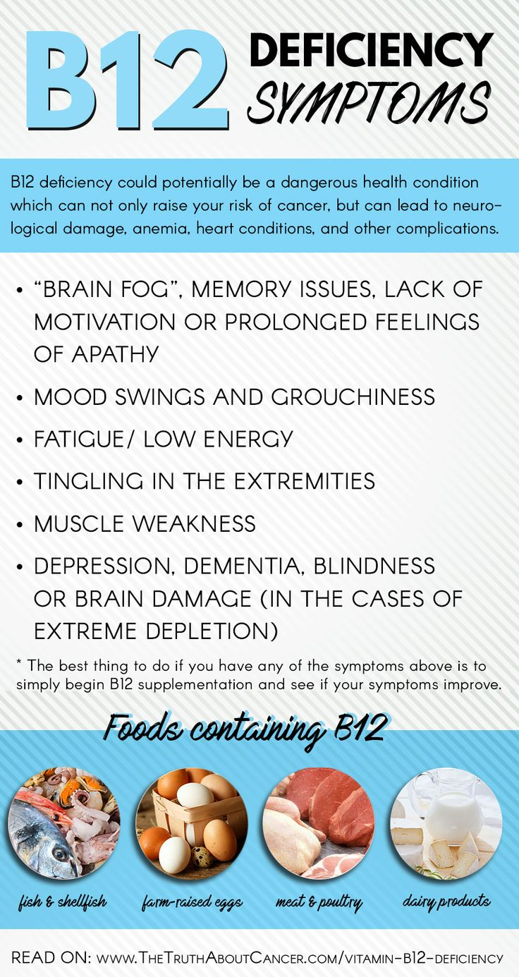 Here are the most common B12 Deficiency symptoms. Did you know that Vitamin B deficiency affects 1 in 4 adults in the U.S.? Click on the image and discover the tell-tale signs, how B12 is related to breast cancer, and what to do if you suspect you're deficient.