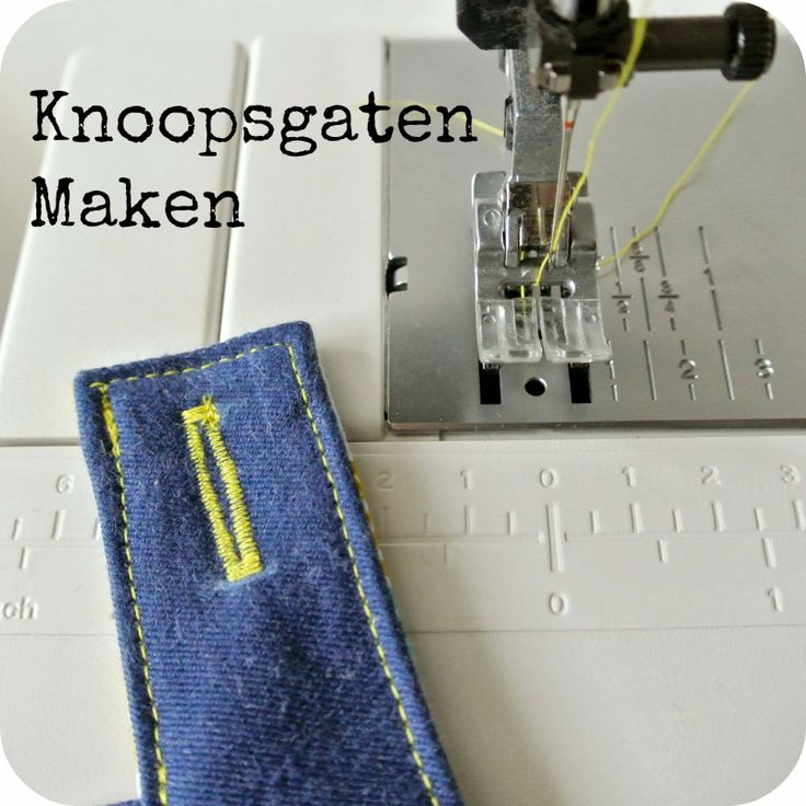 Sew Natural Blog: How to make a button hole