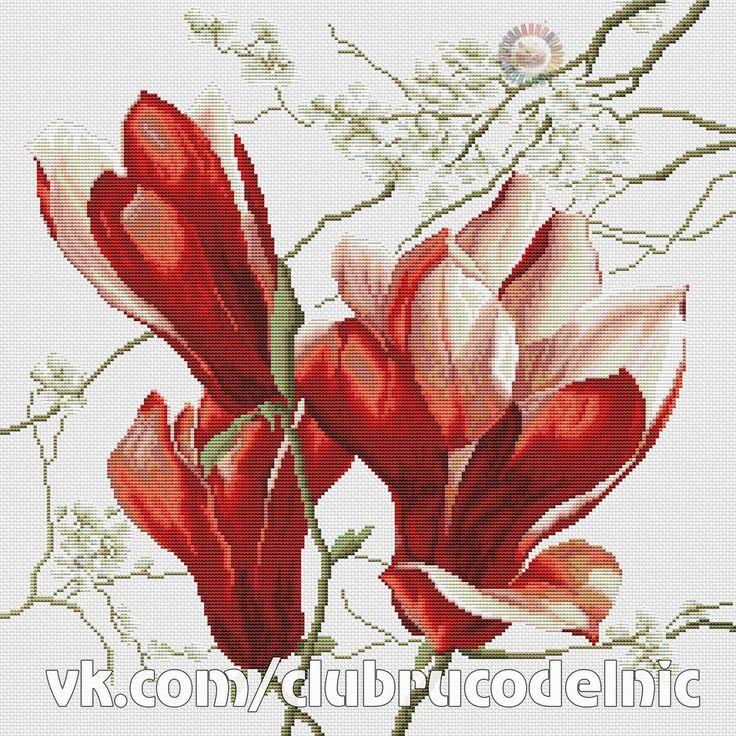 Magnolia rouge (DMC).pdf | VK