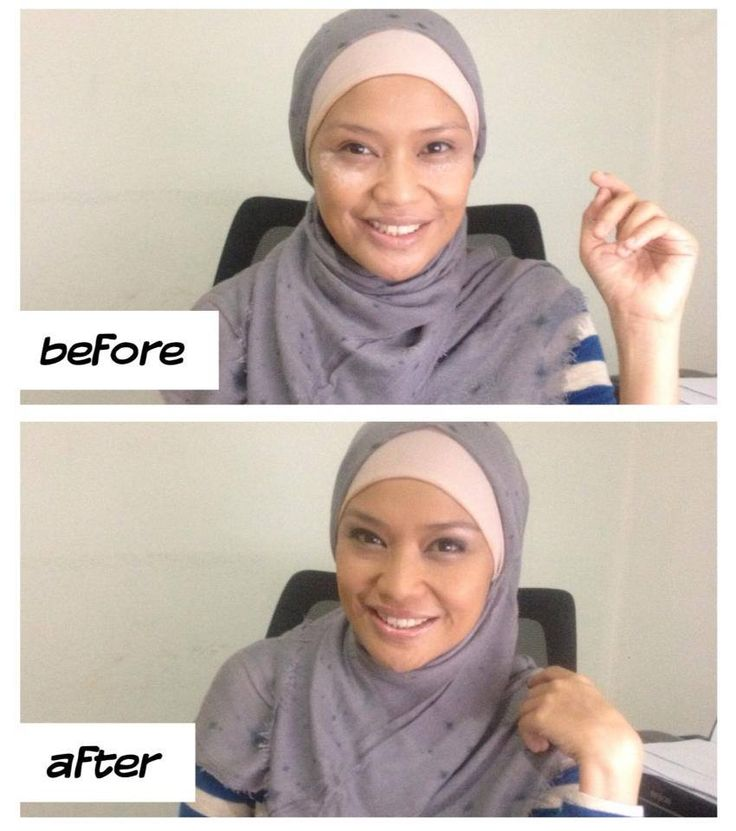 Natural make up by Oriflame.