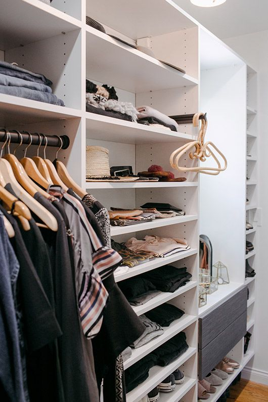 Captivating Grown Up Closet Makeover With California Closets. / Sfgirlbybay