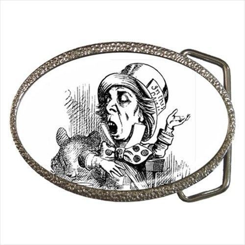 Mad Hatter Alice In Wonderland Art New Belt Buckle #Novelty #fashion #madhatter #buckle