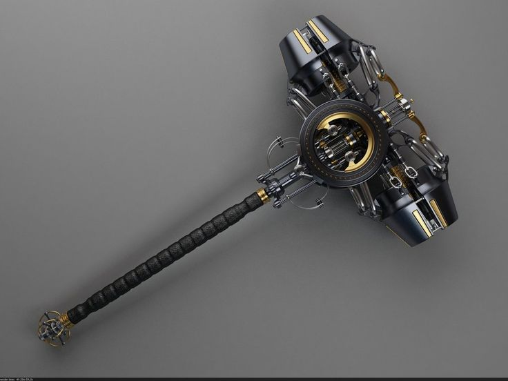 Steampunk Tendencies   Concept Design by Samouel #Concept #Weapons #Steampunk