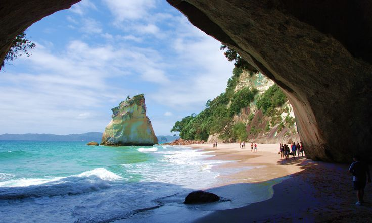 New Zealand Cathedral Cove