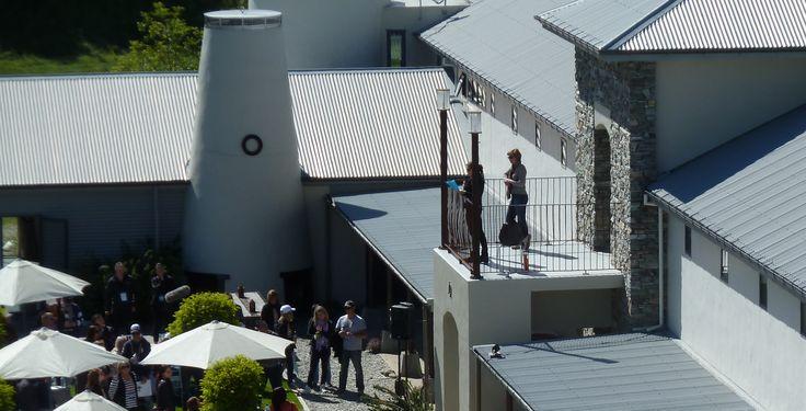 Mount Soho Winery Venue Arrowtown Balcony with internal access