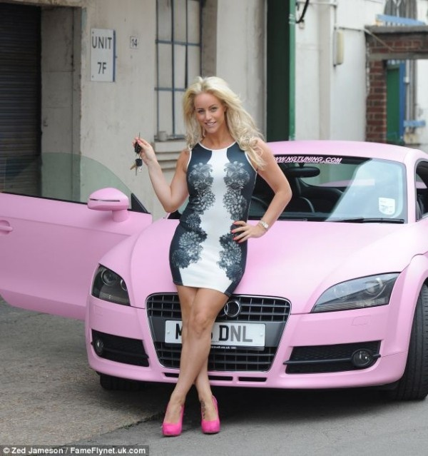 Black Bentayga Who Drives Cars Like This Meet Them At: Model And Actress Danielle Mason Was Surprised By Her