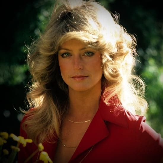 Pin for Later: Skip the Salon With These Gorgeous (and Easy!) Hair Tutorials! Get Farrah Fawcett's Hair — With a Modern Twist
