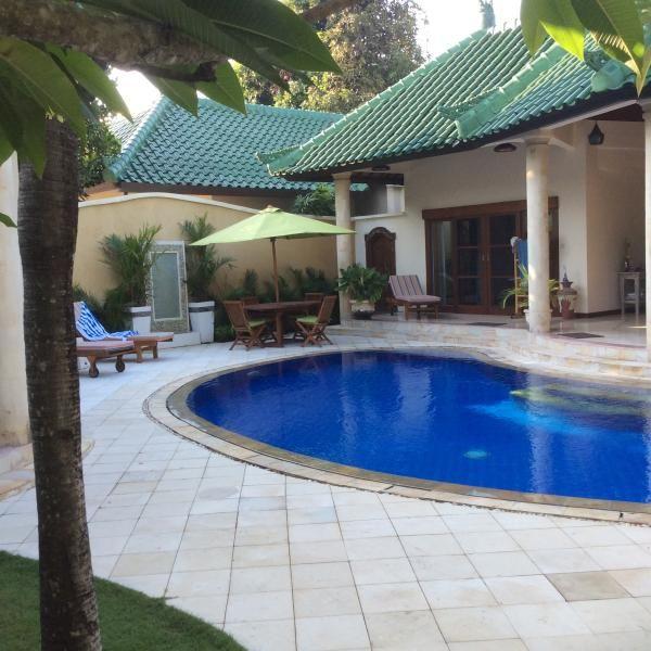 luxury Sanur family villa 305 mtrs from beach in Sanur