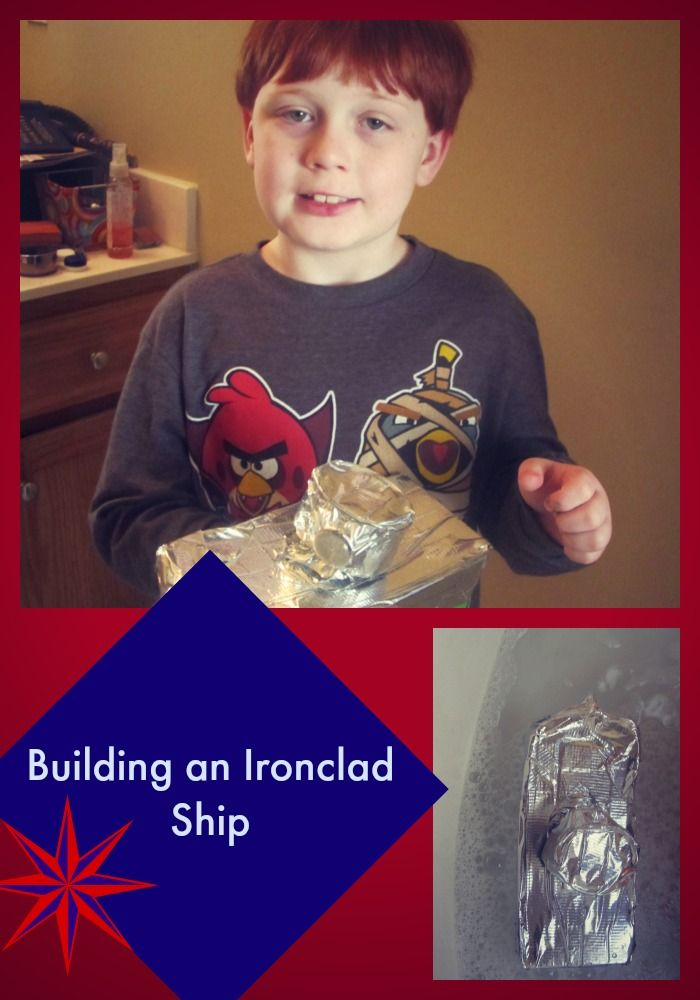 Building the USS Monitor! How we made our own Civil War model ironclad ...