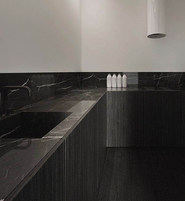 White Kitchen Marble Benchtop: 25+ Best Ideas About Black Marble On Pinterest