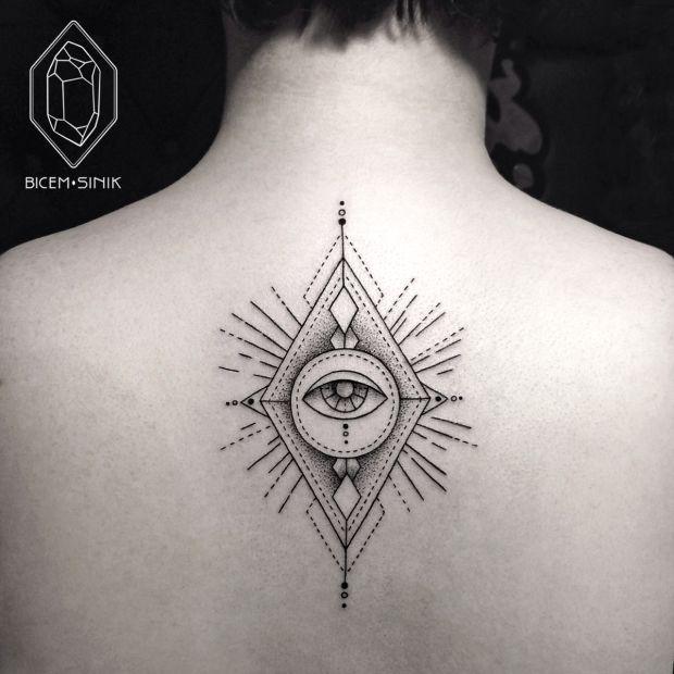Be my eyes. - - - - Elegantly Minimal Tattoos by Bicem Sinik - UltraLinx