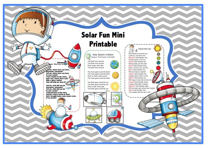 Solar System Lapbook Printables (page 2) - Pics about space