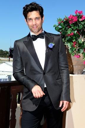 Adam Garcia| Derby Day Celebrities | The Australian