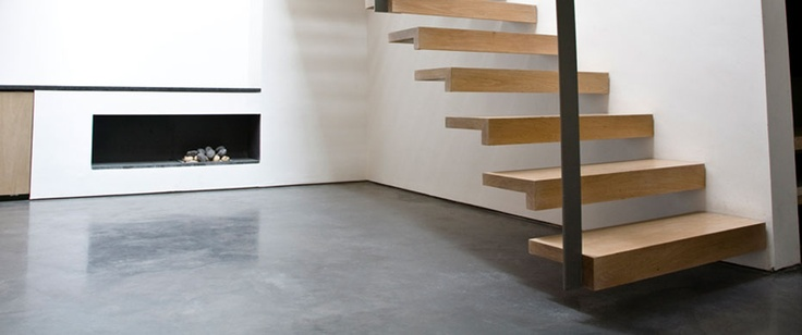 Lazenby Polished Concrete Floor Chelsea Love The Stairs