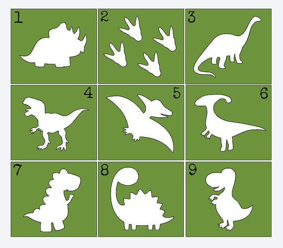 Dinosaur Stencils for Painting Onesies by QueenCityCrafty on Etsy - Dino Onesie - Dinosaur Onesie - Baby Boy Onesie - Custom Onesie Supplies