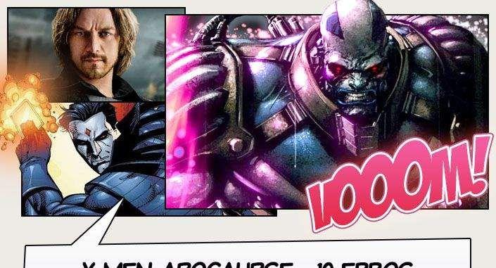 O próximo filme da franquia dos X-Men será baseado na HQA Era de Apocalipse, onde o mutante Legião, filho de Charles Xavier, viaja no tempo com a intenção de matar o Magneto.Conheça 10 momentosda HQ que não deveriam ser adaptados para as telonas! Essa lista contém SPOILERS de X-Men.  Fonte: WC