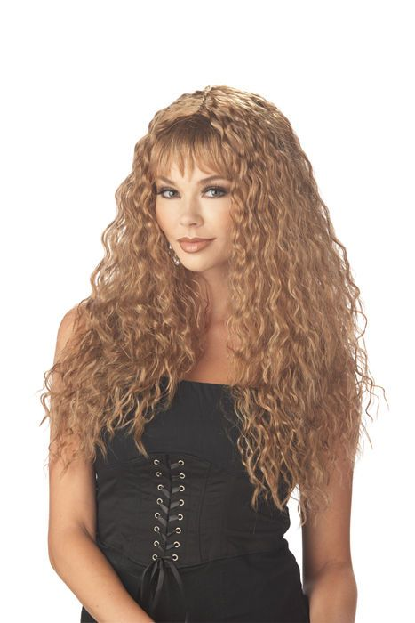 68 best spirit week rock star hair day professional images on fierce permed sexy rock star adult costume wig pmusecretfo Images