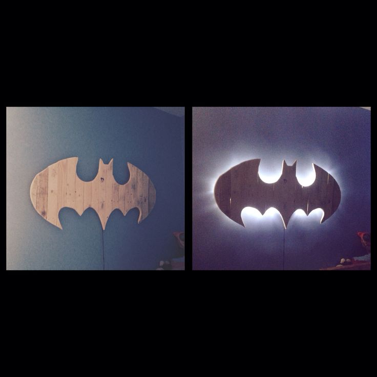 Batman Wall Light Diy : 177 best images about Jacobs room on Pinterest Comic books, Boy rooms and Minecraft