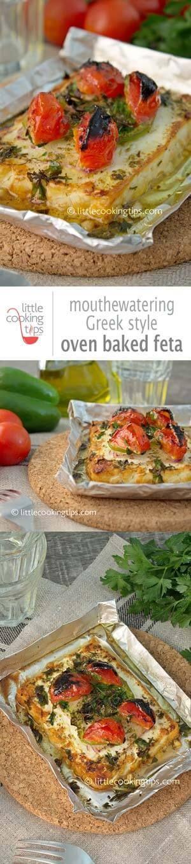Little Cooking tips-oven baked feta