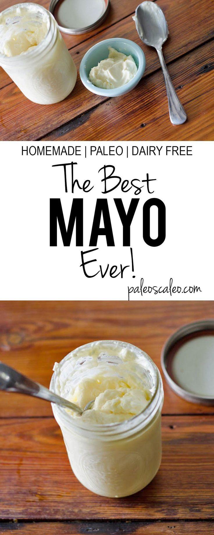The Best Mayo Ever |  Paleo AND Dairy Free!!! PaleoScaleo.com