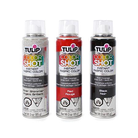 Peinture en aérosol pour tissu Tulip Color Shot ™ | DeSerres
