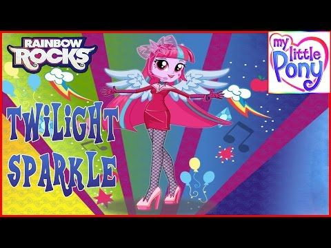 MLPEG - Twilight Sparkle Rainbooms Style Dress Up Game - MLP-EG