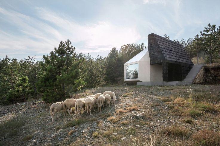 House in Divčibare, par EXE studio