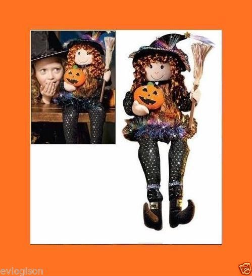26 dancing singing susie the fiber optic witch avon for Fiber optic halloween decorations home