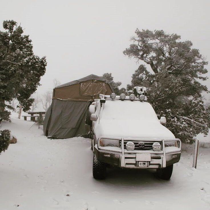 Llega el invierno pero la aventura no se detiene! ORC.cl #carpadetecho #toldos4x4 #toldoslaterales #accesoriosoffroad #accesorioscamping