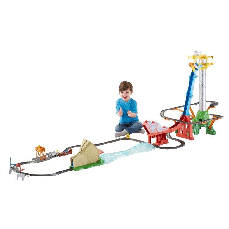 Thomas & Friends TrackMaster Sky-High Bridge Jump Set image-0