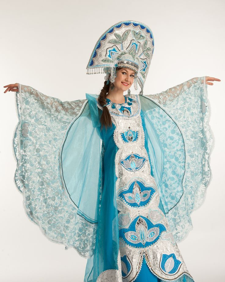 Russian traditional women's clothing