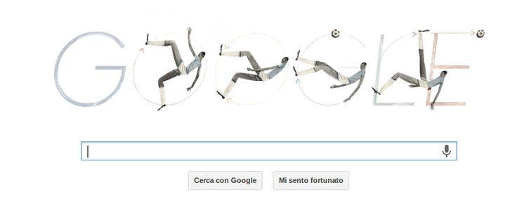 Oggi Google dedica il proprio Doodle a Leonidas da Silva