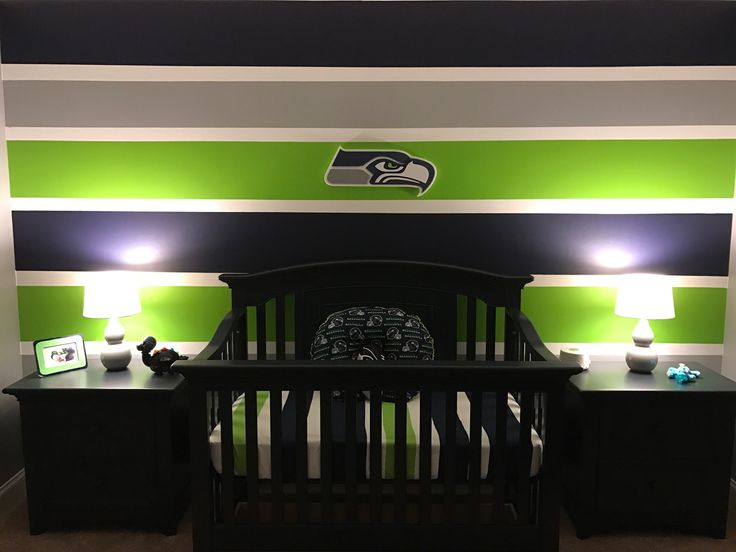 15 best Dallon - Seahawks Nursery images on Pinterest | Baby boy ...