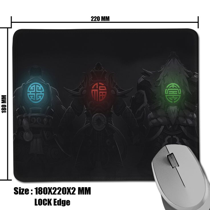 Large Mouse Mat Dota 2 Three Virtues Anti-Slip Comfort Rectangle Optical Computer Gaming Slide Mouse Pad Size 180*220*2mm
