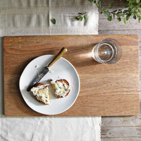 Raw Wood Placemat | west elm - i could make this...with someone's help...