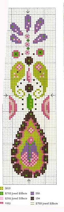 cross stitch - bookmark                                                                                                                                                     More