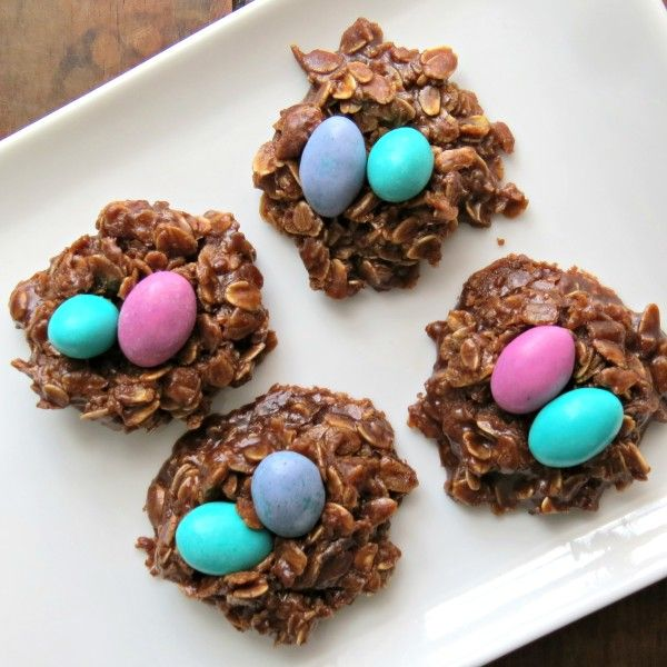 No-Bake Easter Cookies in only 3 minutes!!
