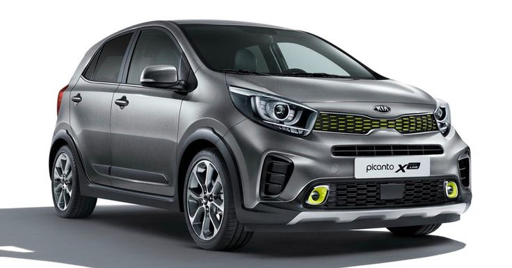 New Kia Picanto X-Line Gets New Engine, Styling, Elevated Ground Clearance #Frankfurt_Motor_Show #Kia