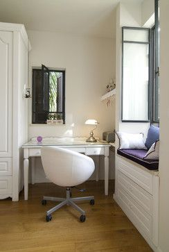 higher window seat for smaller windows.