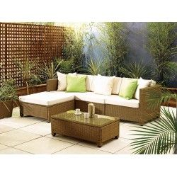 Barcelona Rattan Sofa Set | Living It Up