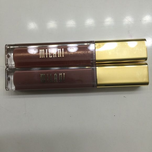 Reduced limited time. Milani lip gloss bundle Swatched only. I have too much makeup. Milani Makeup Lipstick