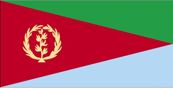 Country Flags: Eritrea Flag